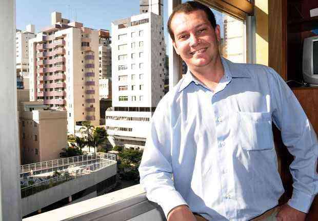 O consultor de vendas Bruno Beleza Beltrão ganhou dois apartamentos, uma loja e um carro zero na troca de um terreno que pertencia a seu pai - Eduardo de Almeida/RA studio