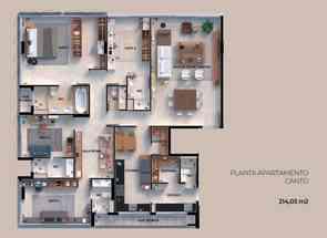 Apartamento, 4 Quartos, 4 Vagas, 4 Suites em Sqnw 106, Noroeste, Brasília/Plano Piloto, DF valor de R$ 2.688.200,00 no Lugar Certo