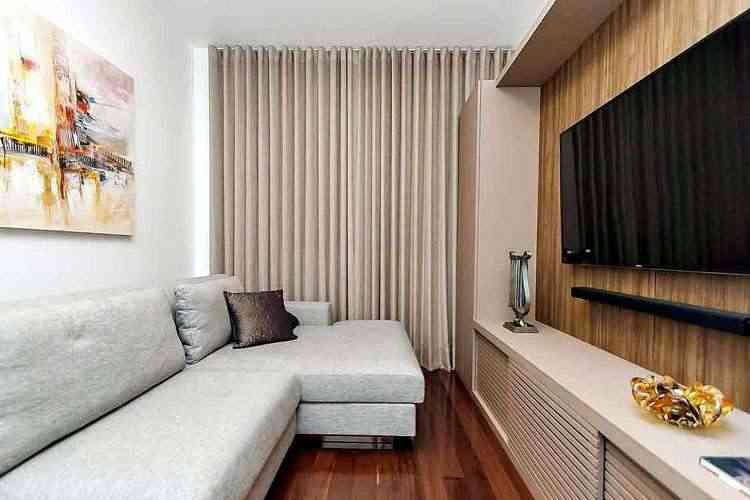 O ambiente pode ser bem reservado, com móveis planejados de acordo com o leiaute... - Mário Machado Photos/Divulgação
