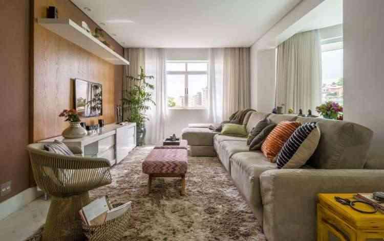 Projeto enche a casa de Maria Lourdes de cores e proporciona mais prazer para desfrutar o lar - Rodrigo Tozzi/Divulgação