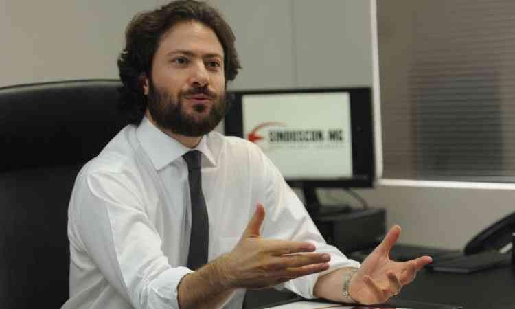 André de Sousa Lima Campos, presidente do Sinduscon-MG, acredita que o setor terá maior poder de negociação - Gladyston Rodrigues/Divulgação