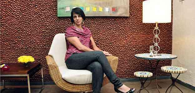 A designer de interiores Karina Marins diz que sustentabilidade e reciclagem são fatores relevantes - Eduardo Almeida/RA Studio