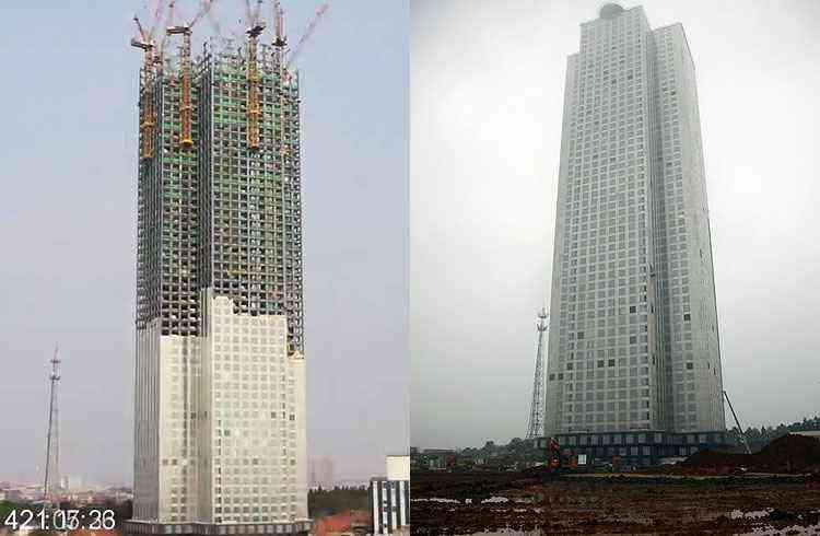 Mini Sky City - Reprodução/Youtube/Mini Sky City - Peng Peng/AP/Reprodução