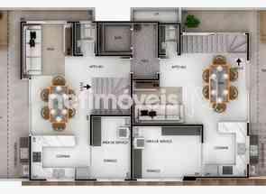 Área Privativa, 4 Quartos, 4 Vagas, 2 Suites em Santa Rosa, Belo Horizonte, MG valor de R$ 1.100.000,00 no Lugar Certo