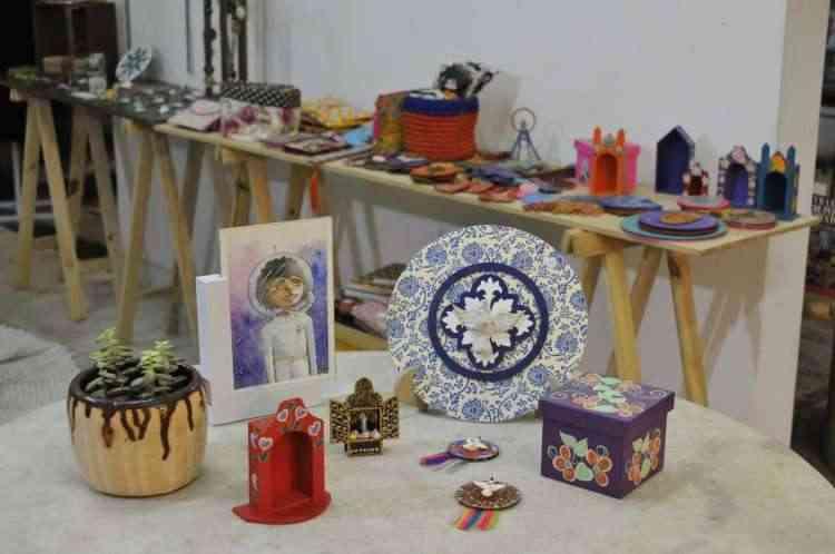 Feira na Savassi reúne mais de 100 artistas plásticos e artesão de BH e cidades históricas  - Juarez Rodrigues/EM/D.A Press