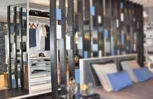 Tradicional quarto de casal se torna refúgio confortável e contemporâneo