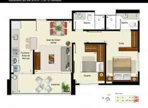 Apartamento, 2 Quartos, 1 Vaga, 1 Suite em Rua 19, Norte, Águas Claras, DF valor de R$ 385.000,00 no Lugar Certo
