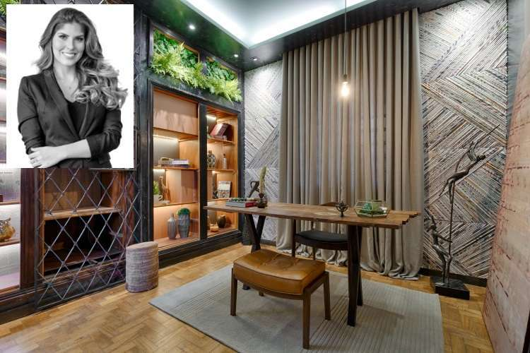 Ambiente Jovem Cosmopolita, projetado pela arquiteta Lívia Spindola para o evento  - Gustavo Xavier/Divulgação