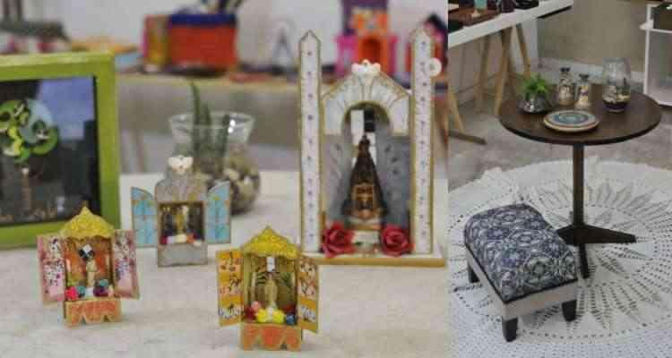 Peças artesanais criativas para compor a decoração de ambientes podem ser encontradas no Centro Cultural Beagá Arte - Juarez Rodrigues/EM/D.A Press