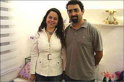 A engenheira Patrícia Abreu e o autônomo Carlos Mendes visitaram a edição 2008 e voltaram neste ano para tirar ideias para a nova casa - Joana Gontijo/Lugar Certo