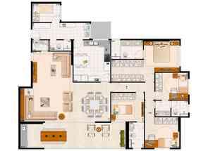 Apartamento, 4 Quartos, 4 Vagas, 4 Suites em Av. das Araucárias, Águas Claras, Águas Claras, DF valor de R$ 1.090.000,00 no Lugar Certo
